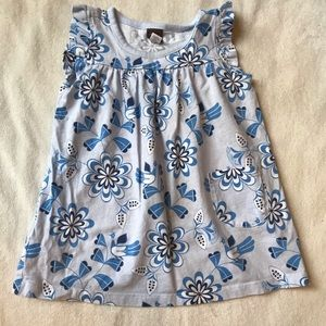 Tea Baby Dress with Flutter Sleeves